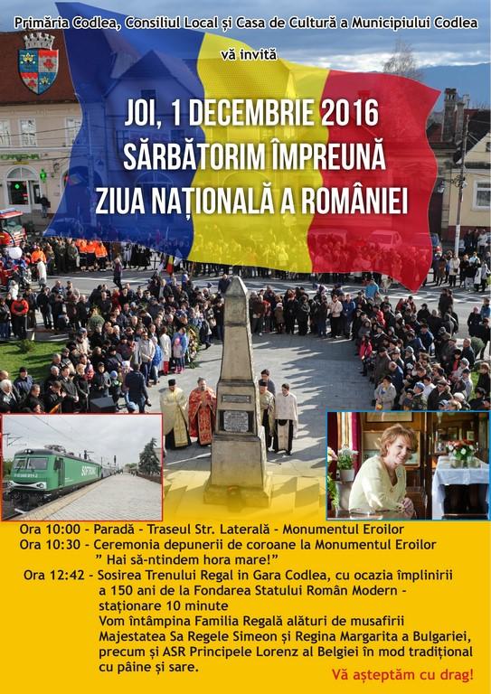1 Decembrie 2016, Ziua Națională a României