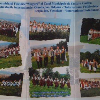 "Ansamblul Folcloric ""Magura"" pleaca in turneu in Olanda si Belgia"