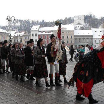 """Festivalul naţional de muzică, tradiţii şi obiceiuri de iarnă """"Leru-i ler… """" Ediţia a II-a, Braşov"""