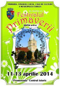 FESTIVALUL PRIMAVERII – Editia 2014