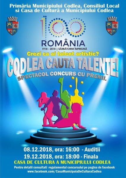 Codlea cauta Talente – Editia 2018