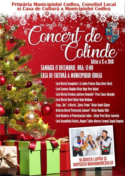 Concert de Colinde 2018