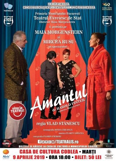 Piesa de teatru – Amantul