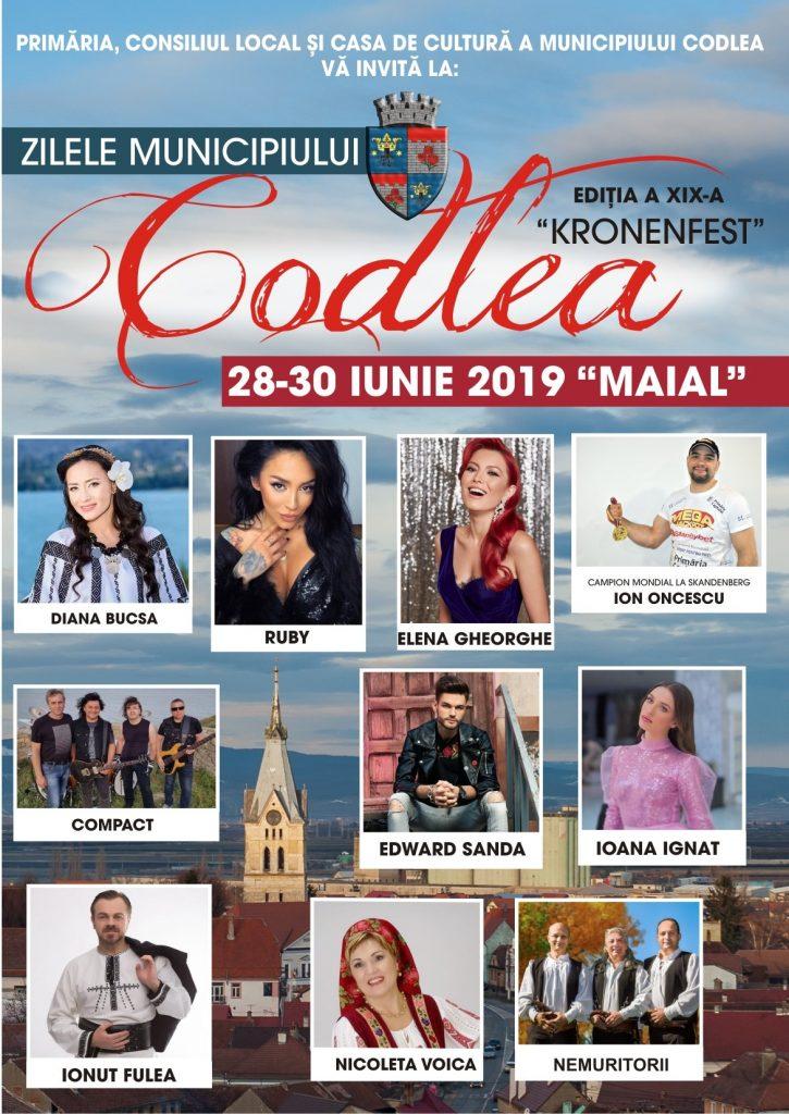 Zilele Municipiului Codlea – KRONENFEST – 2019