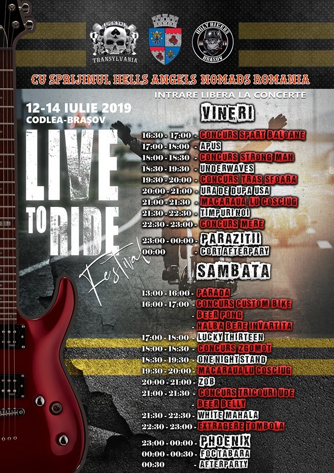 Live to Ride – PRIMA EDITIE – MAIAL