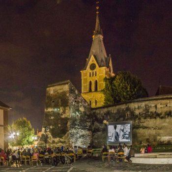 Filmul Morometii 2 in Promenada Codlea
