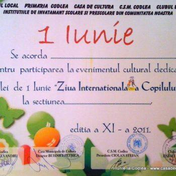 """""""Ziua Internationala a Copilului"""" Editia a XI-a"""