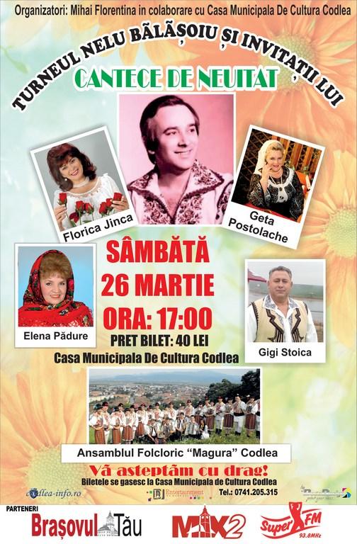 Turneul Nelu Bălășoiu și invitații lui