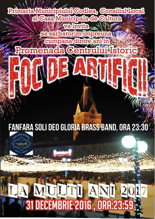 """Foc de artificii în """"Promenadă"""", Centrul Istoric"""