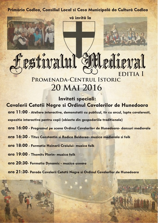 Festivalul Medieval – Prima ediție