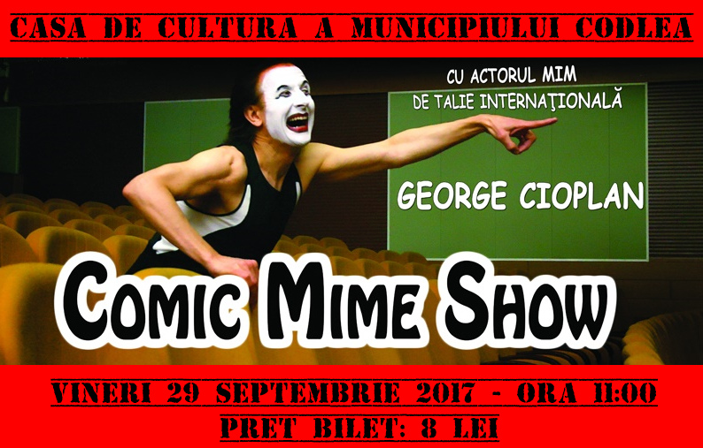 Comic mime show