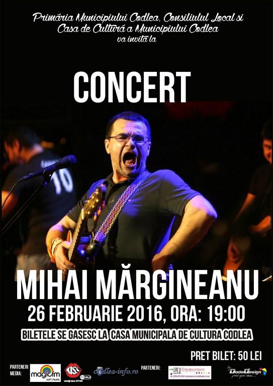 Concert Mihai Mărgineanu
