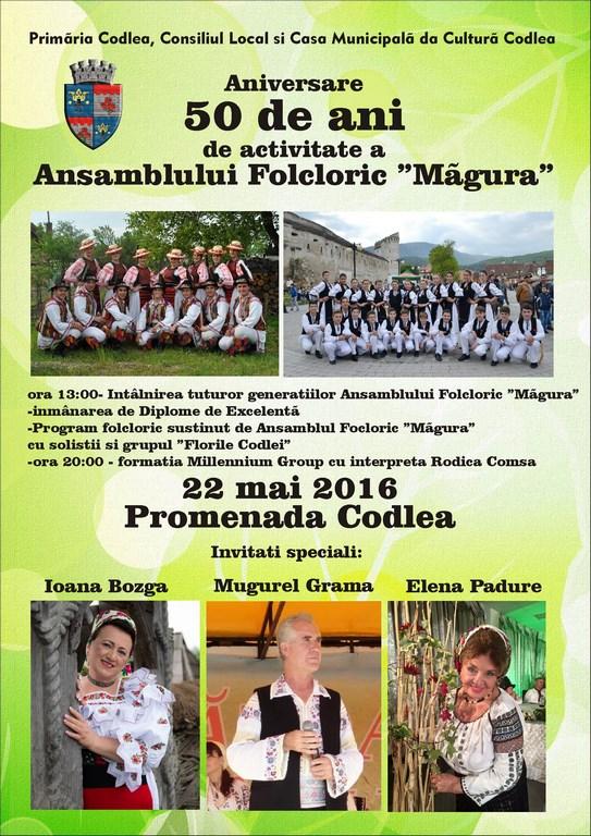 Ansamblul Folcloric Măgura, ediție aniversară – 50 ani de activitate