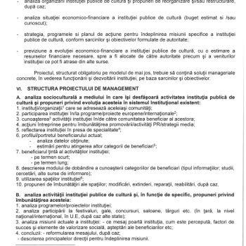 Concurs proiecte de management pentru ocuparea postului de manager Casa de Cultură a Municipiului Codlea