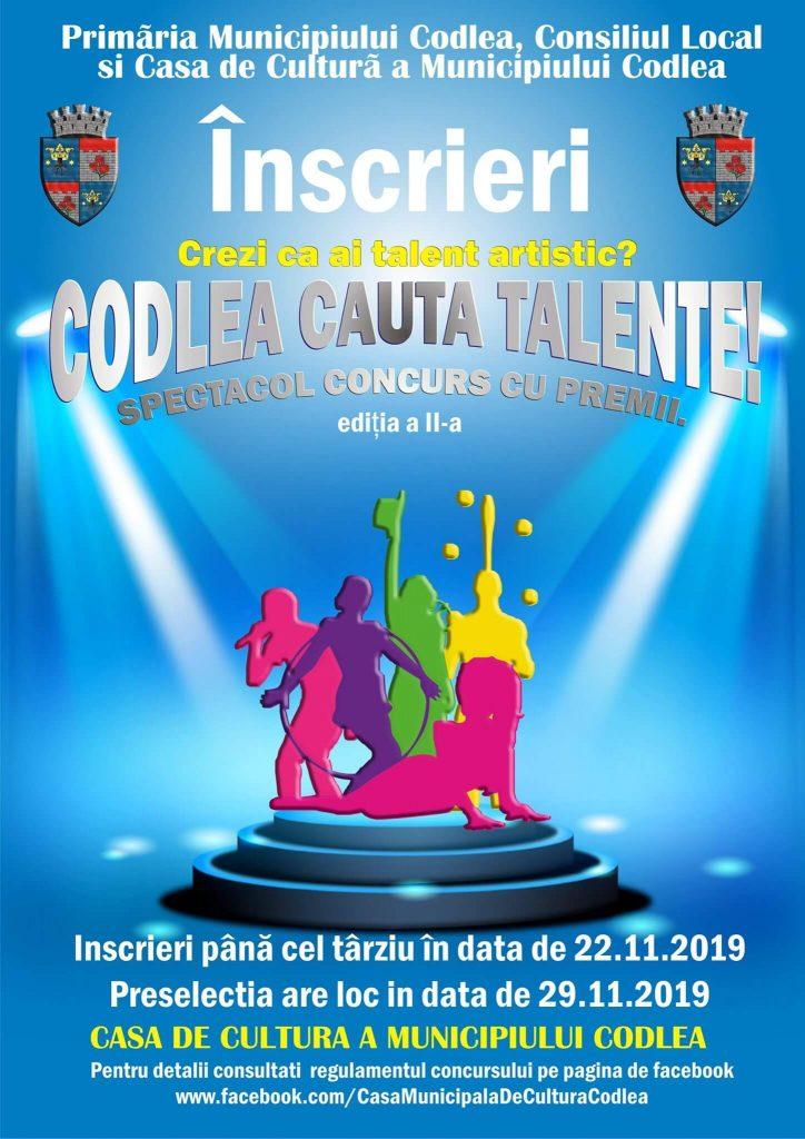 Codlea cauta talente – Editia a II-a