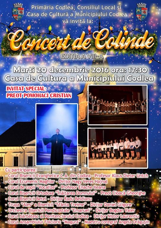 """""""Concert de Colinde"""", ediția a VIII-a"""