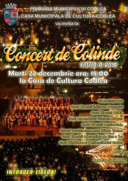 A VII-a editie a Concertului de Colinde