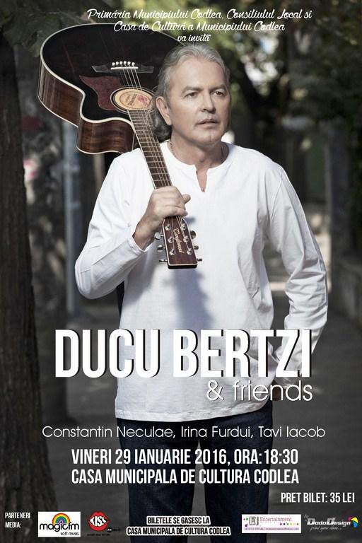 Ducu Bertzi la Casa de Cultura Codlea
