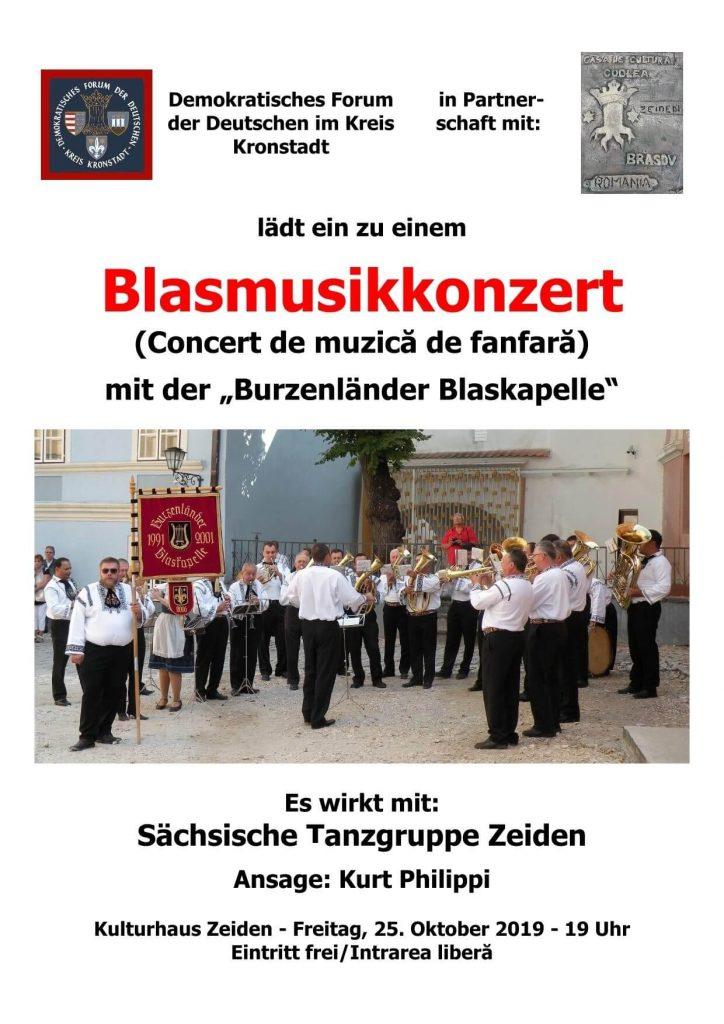 Concert de Muzica – Fanfara Burzenländer Blaskapelle