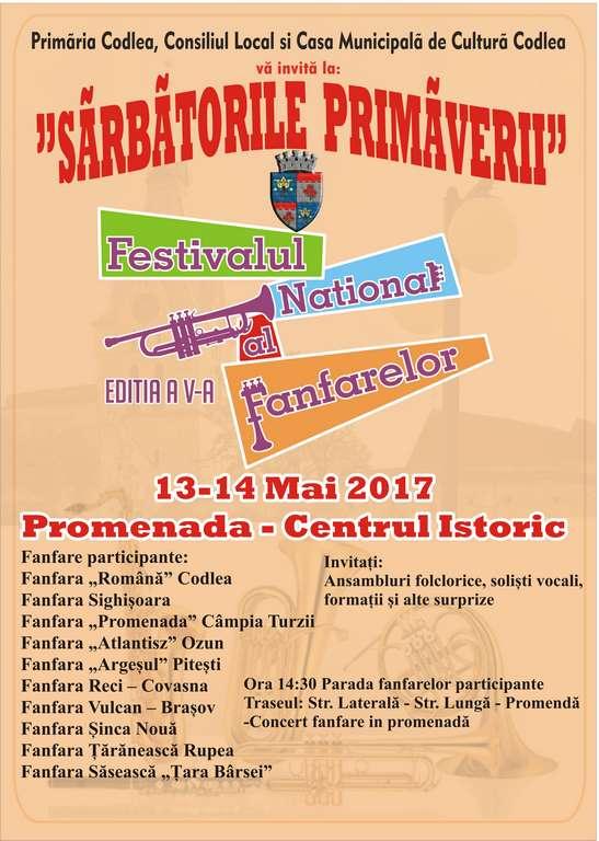 Festivalul Național al Fanfarelor – Sărbătorile Primăverii