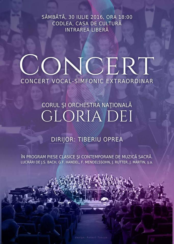 Concert vocal-simfonic extraordinar Gloria Dei