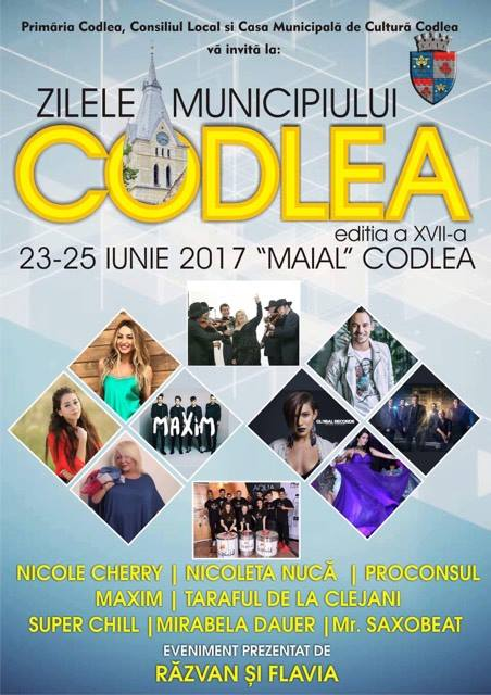 Zilele Municipiului Codlea – Kronenfest 2017