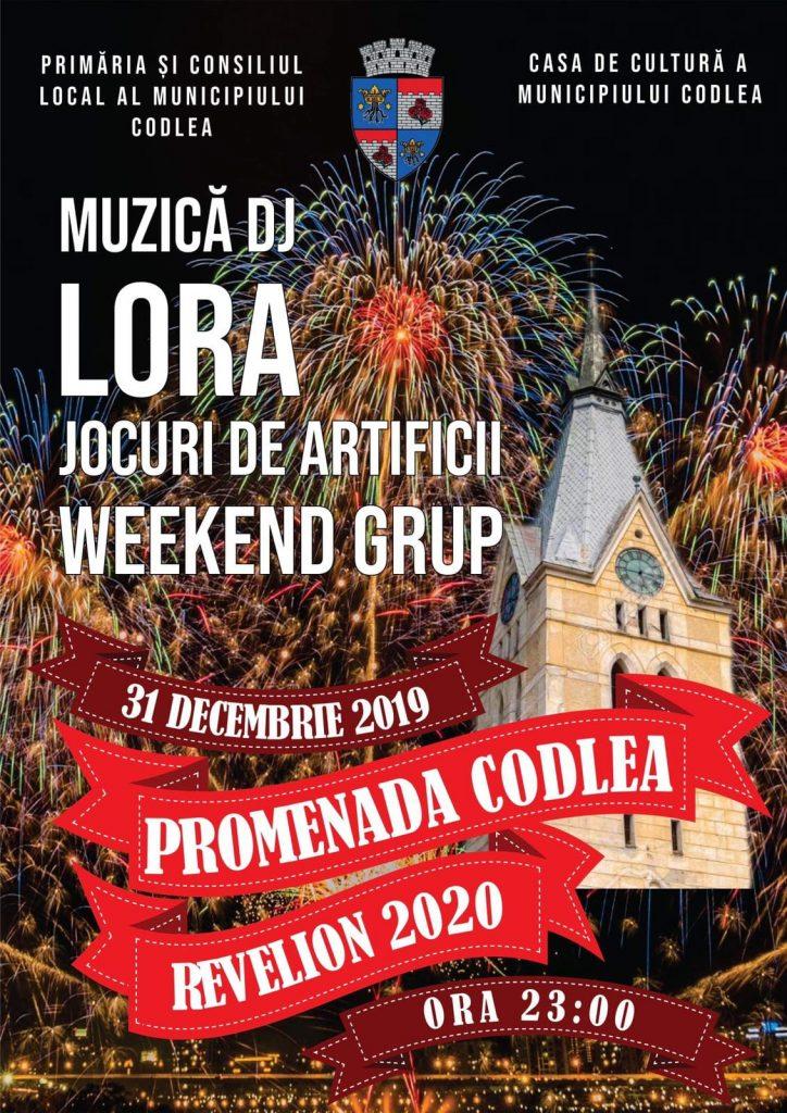 Revelion 2020 in Promenada Codlea